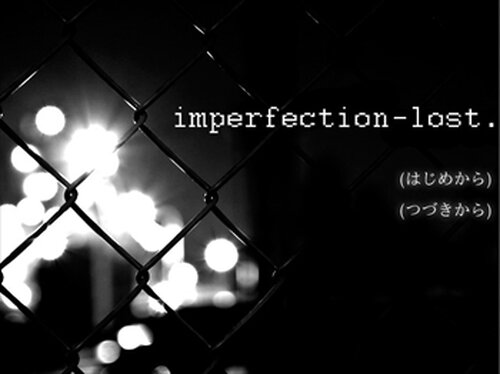 imperfection-lost Game Screen Shots