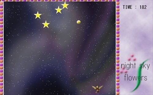 Night Sky Flowers Game Screen Shot4