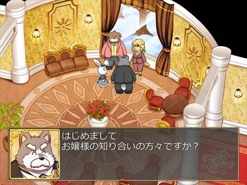 Sebastian and Little lady Butler of Truth Game Screen Shot1