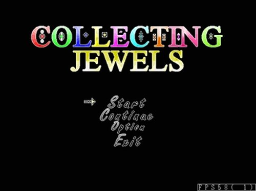 COLLECTCING JEWELS Game Screen Shots