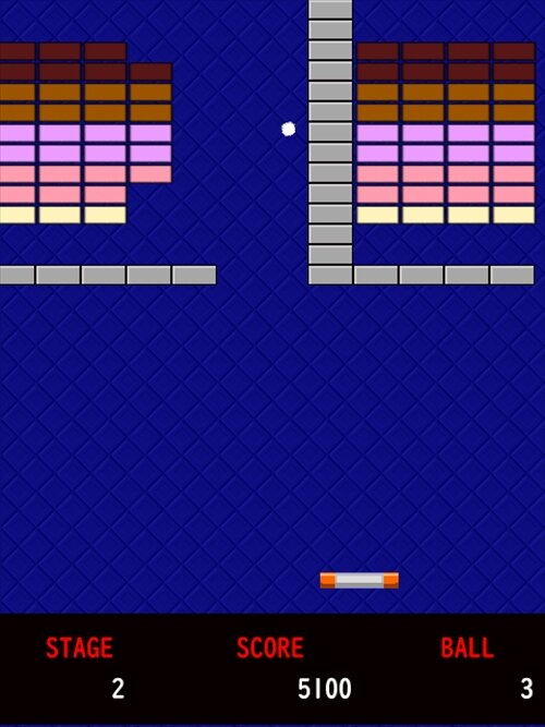breakout Game Screen Shot