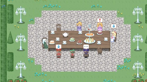 The Witches' Tea Party~魔女のお茶会(体験版) Game Screen Shot1