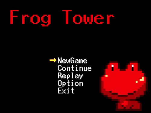 Frog Tower Game Screen Shot1