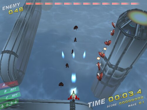Rampage in the sky Game Screen Shot