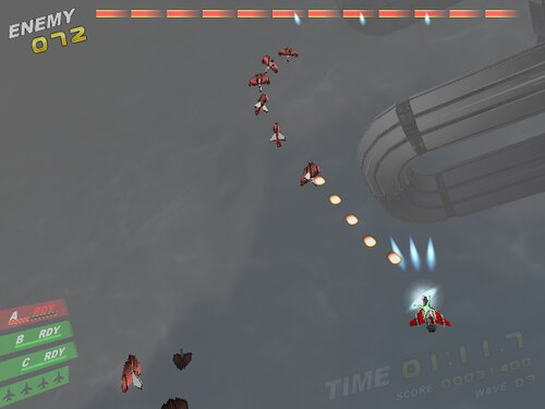 Rampage in the sky Game Screen Shots