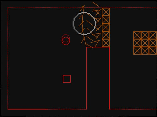 LINE BALL EXPLOSION Game Screen Shot1