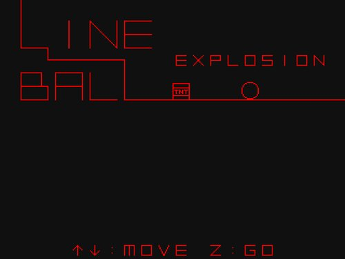 LINE BALL EXPLOSION Game Screen Shots