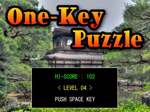 One-Key Puzzle Game Screen Shots