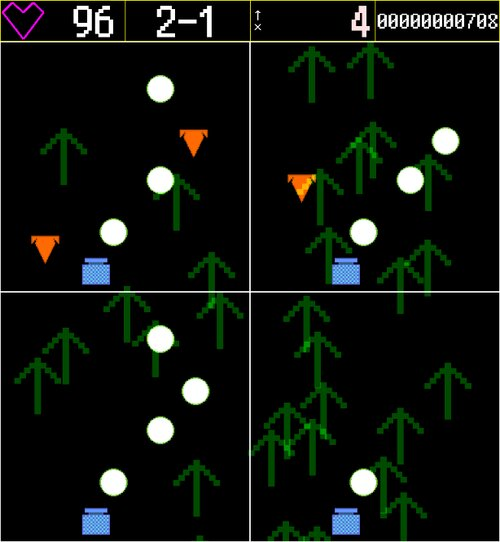 ↑DOUBLE-UP↑ Game Screen Shot