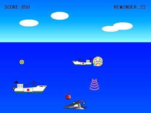 For the Whale Lover Game Screen Shot1