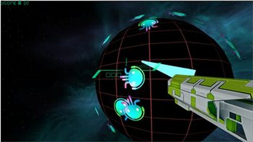 TECHNOPLANET DEFENSE FORCE Game Screen Shot2