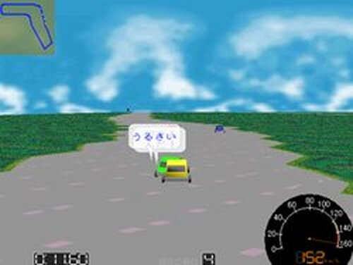 自動車レース Game Screen Shots
